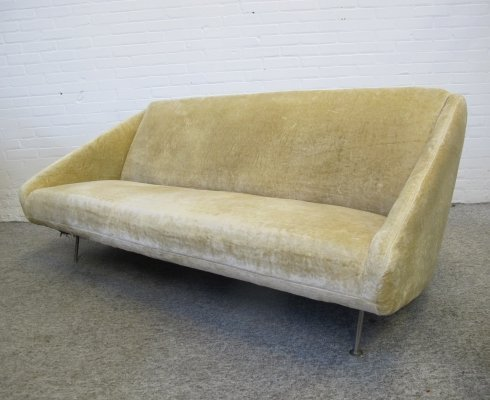 Rare sofa model 167 by Theo Ruth for Artifort, 1950s