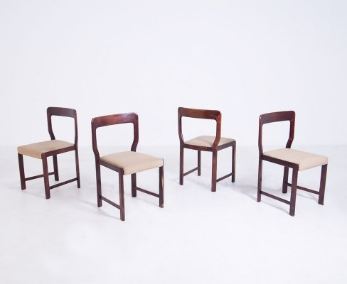 Set of 4 chairs by Mario Sabot, 1960s
