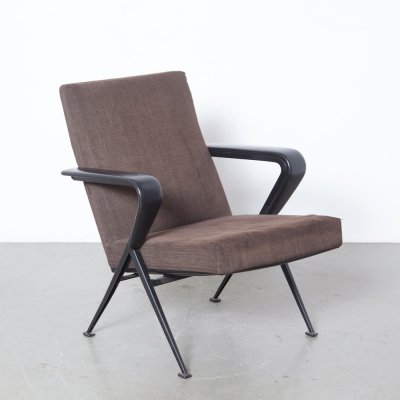 Brown Repose Armchair by Friso Kramer for Ahrend de Cirkel, 1960s