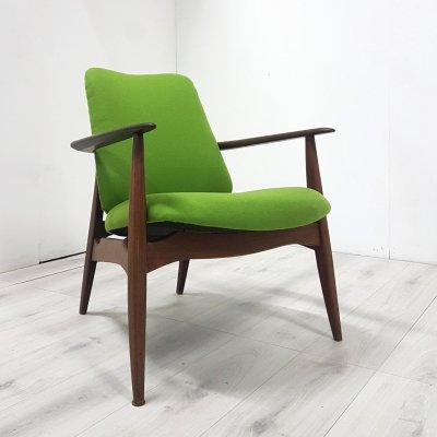 Model Tolga lounge chair by Louis van Teeffelen for WéBé, Netherlands 1950s
