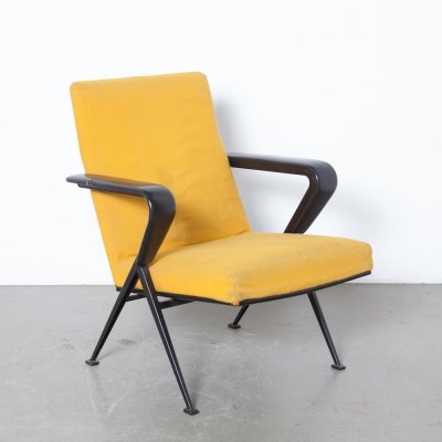 Yellow Repose Armchair by Friso Kramer for Ahrend de Cirkel, 1960s