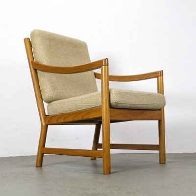 Teak Lounge Chair by CFC Silkeborg, 1970s