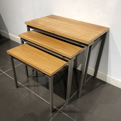 Mid-Century Modernist set of Nesting Tables, 1950s