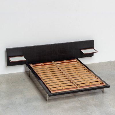 Alfred Hendrickx double bed for Belform, 1960s