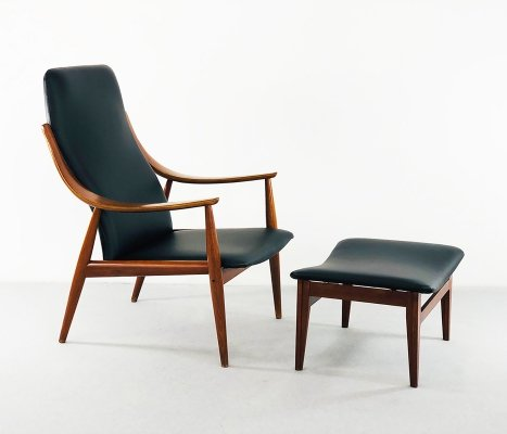 Ottoman & Long Chair by Peter Hvidt for France & Son