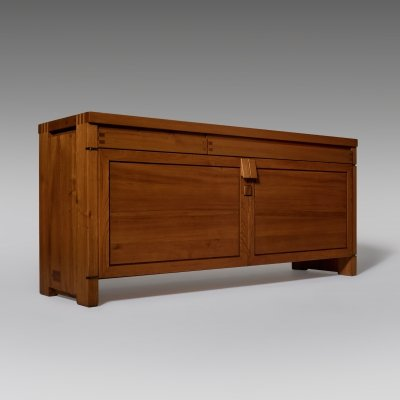 Pierre Chapo 'R08' sideboard in Solid Elm, 1970