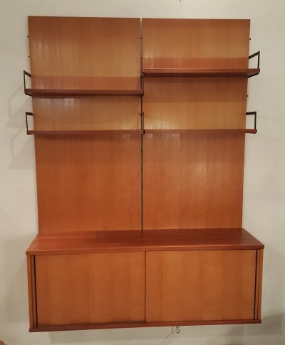 Japanese Series wall unit by Cees Braakman for Pastoe, 1950s