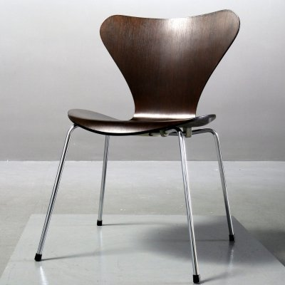 Chairs 3107 by Arne Jacobsen for Fritz Hansen, 1980s