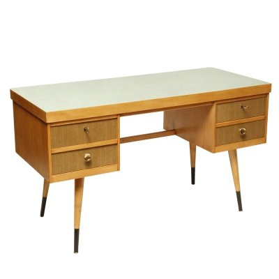 Ekawerk Horn-Lippe desk with laminate top, DDR 1950s-1960s