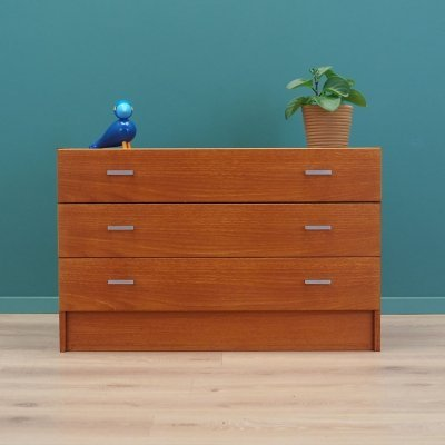 Teak chest of drawers, Denmark 1990s