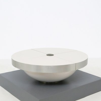 Round 'Design collection' Coffee Table by Cesare Augusto Nava