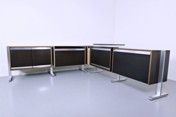 Set Of Modular Sideboard By Michel Ducaroy for Ligne Roset, 1970s