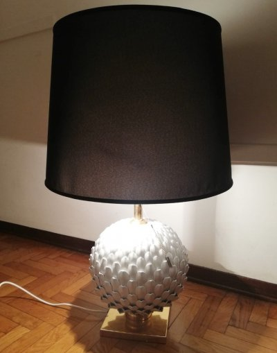Pine Cone Table Lamp by Mangani-Florence, 1970's