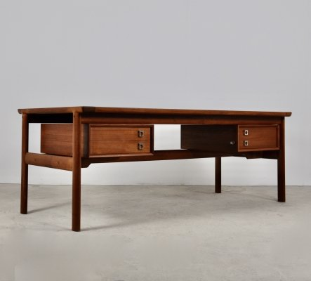 Executive Teak Desk by Arne Vodder for Sibast, 1965