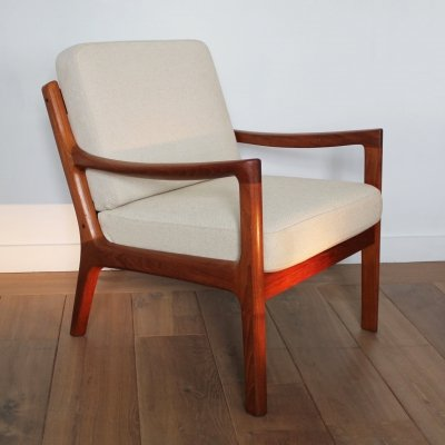 Senator lounge chair by Ole Wanscher for France & Son, 1960s