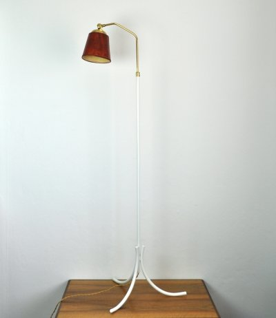 Swedish Floor Lamp, 1950s