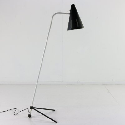 Sun Series floor lamp by H. Busquet for Hala Zeist, 1960s