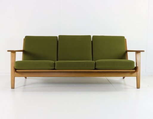 GE 290 sofa by Hans Wegner for Getama, 1950s