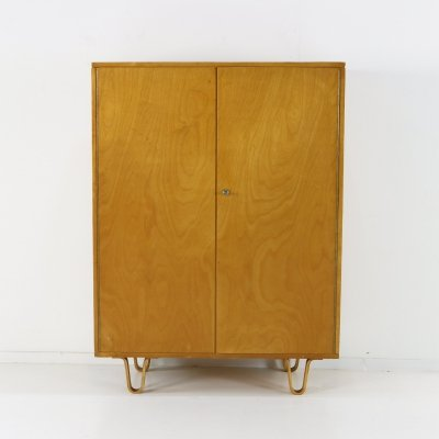 Ladies birchwood linen cabinet by Cees Braakman for UMS Pastoe