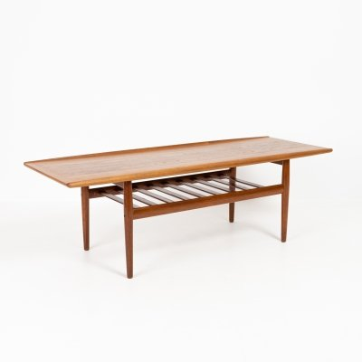Coffee table by Grete Jalk, 1960s