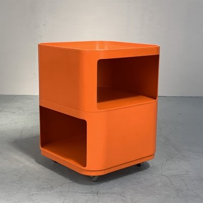 Componibili Quadrati trolley by Anna Castelli for Kartell, Italy 1970s