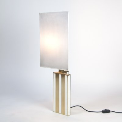 Large Italian Table Lamp by Romeo Rega, 1970's