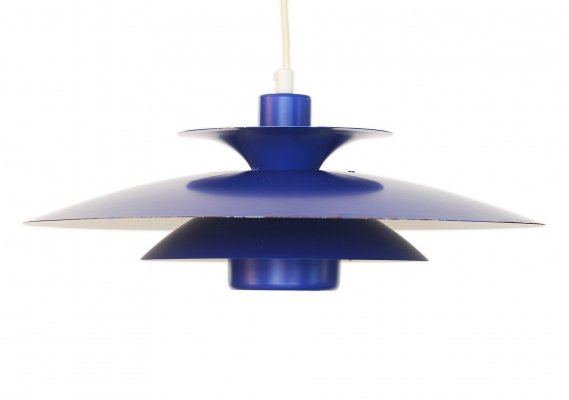 Layered pendant light 'Donau' by Jeka, Denmark 1970s