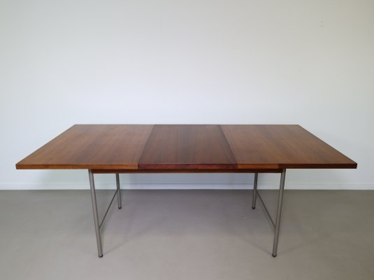 Rosewood extendable 'SM 08' dining table by Cees Braakman for Pastoe, 1960s