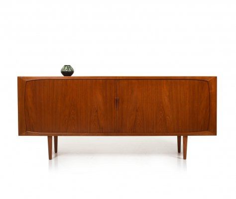 Danish 1950s Jalousie-Door Sideboard in Teak
