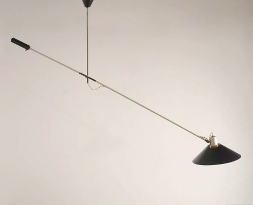 Counterbalance lamp by J. Hoogervorst for Anvia, 1957