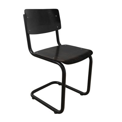 Industrial chair with tubular frame, 1960s