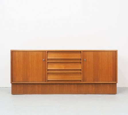 German teak vintage sideboard with drawers, 1960's