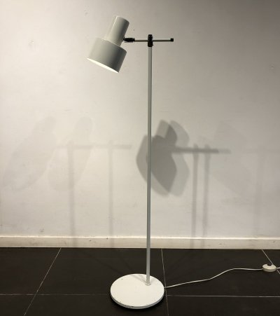 Adjustable 'Lento' Floor Lamp by Jo Hammerborg for Fog & Mørup, 1960s