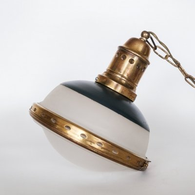 Bag Turgi pendant lamp, Switzerland 1920's