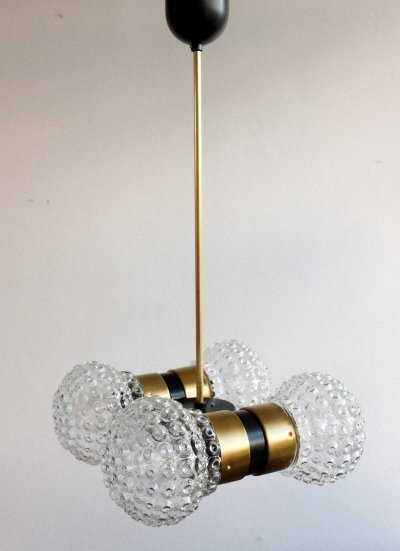 8 12440 hanging lamp by Napako, 1970s