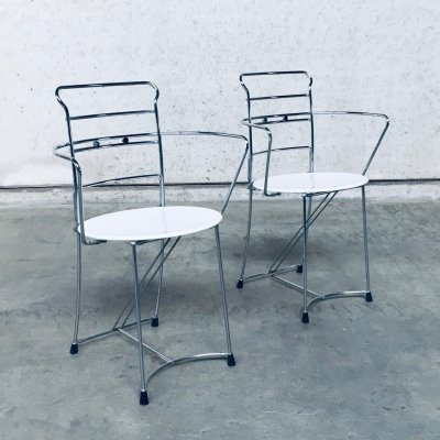 1980's Postmodern Design Chair set Eridiana by Antonio Citterio for Xilitalia