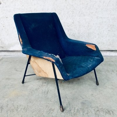 Original S12 Lounge Chair by Alfred Hendrickx for Belform, Belgium 1958