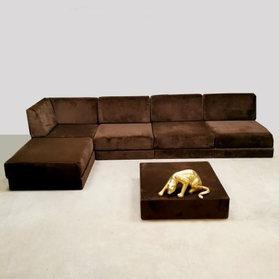 Vintage modular 'Living landscape' sofa by Tata Ronkholz-Tölle for Habit, 1960s