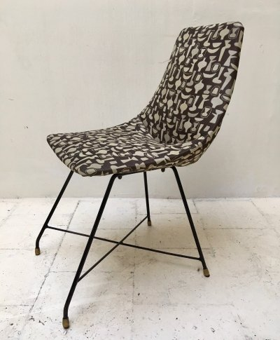 Aster chair by Augusto Bozzi for Saporiti, 1950s