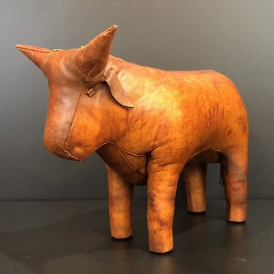 Leather Omersa Bull, 1960s