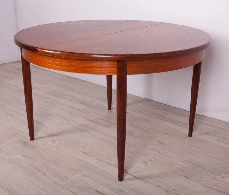 Teak Round Fresco Dining Table from G-Plan, 1960s