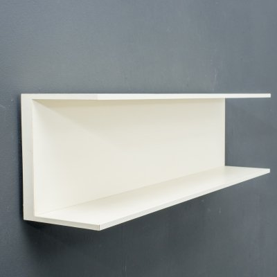 1960s Walter Wirz wall shelf by Wilhelm Renz