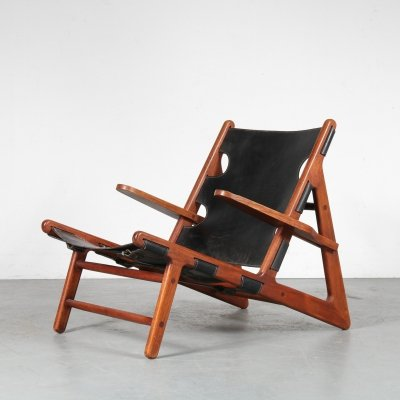 Hunting lounge chair by Børge Mogensen for Fredericia Stolefabrik, 1960s