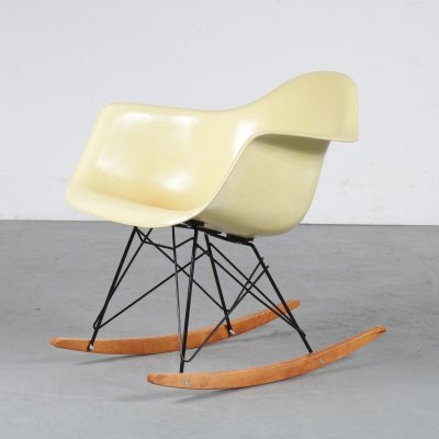 Rare Eames Zenith Rocking Chair for Herman Miller, USA 1950