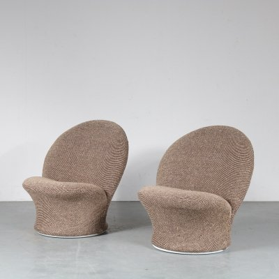 Pierre Paulin 'F572' Side Chairs for Artifort, the Netherlands 1960