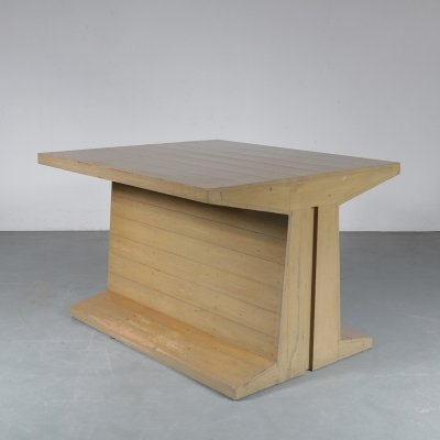 Rare Dom Hans van der Laan Table / Desk, Netherlands 1970