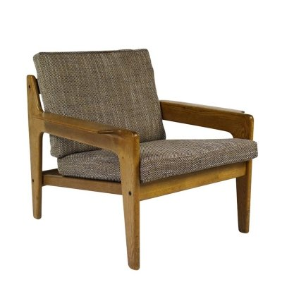 Vintage Danish Armchair by Arne Wahl Iversen for Komfort