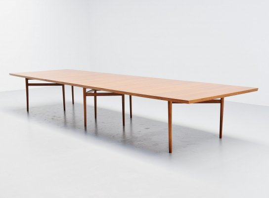 Arne Vodder conference table by Sibast Mobler, Denmark 1960