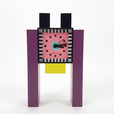 Neos Table Clock by Nathalie du Pasquier & George Sowden, 1980s