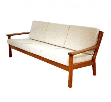 Danish design sofa by Juul Kristensen for Glostrup Møbelfabrik, 1960s